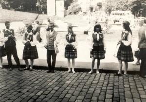 Leigarid 1969. aasta suvel vanalinnas. Silvia Kukepuu arhiivist