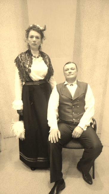 Mõisahärra von Mäe abikaasaga