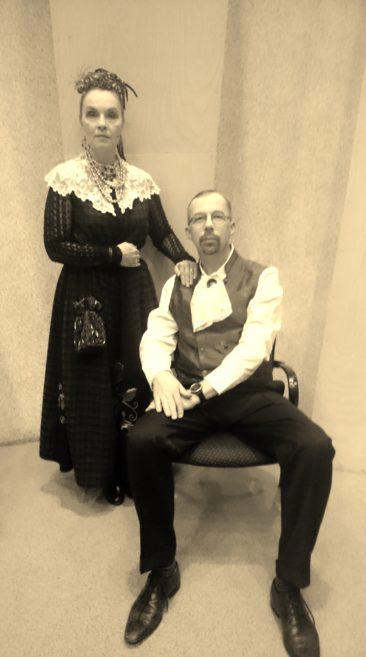 Mõisahärra von Kruup abikaasaga