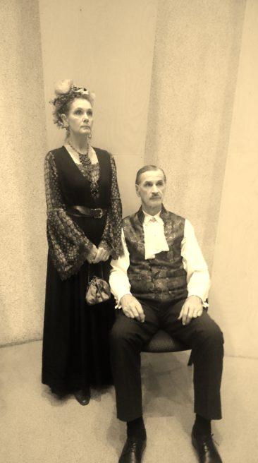 Mõisahärra von Leming abikaasaga