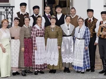 Leigarid Lūznava mõisas ballil