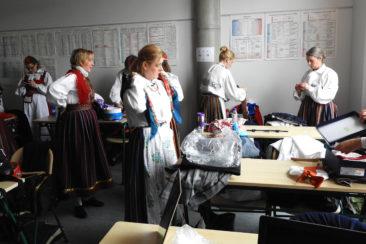 Vene keele klassis uueks etteasteks sättimas