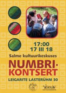 Leigarid-Numbrikontsert-plakat