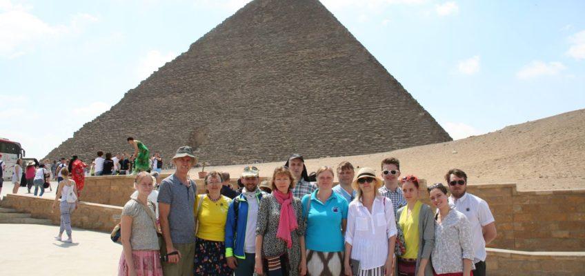 Giza püramiidid – 22. aprill 2018